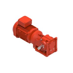 Helical-bevel gearmotor, type JRTK