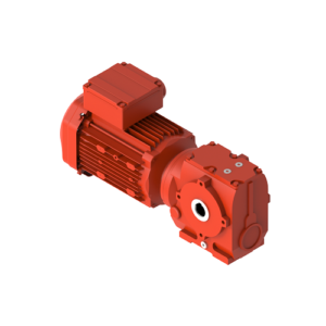Helical-worm gearmotor, type JRTS