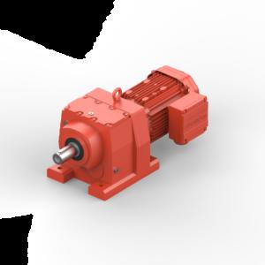 Helical gearmotor, type JRTR