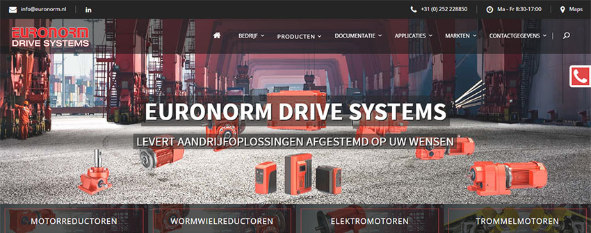 Euronorm new website